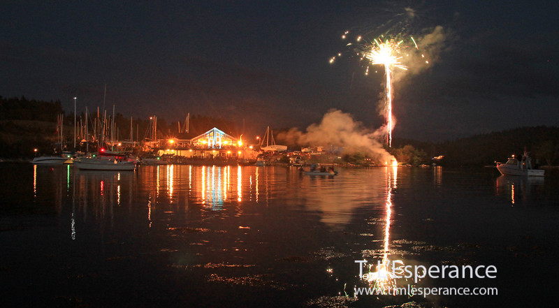Shining Water's Canada Fireworks.