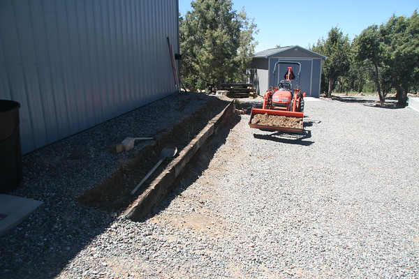 Garage Retaining Wall Replacement - 5/23/2017