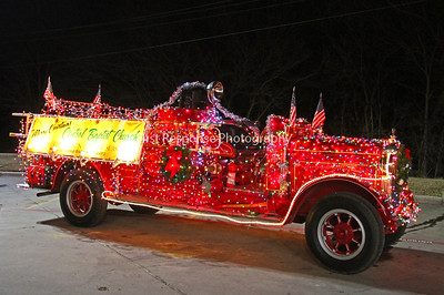 "1928 Boyer Fire Engine ""Christmas Edition"""