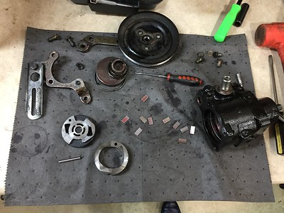 Bad reman steering pump