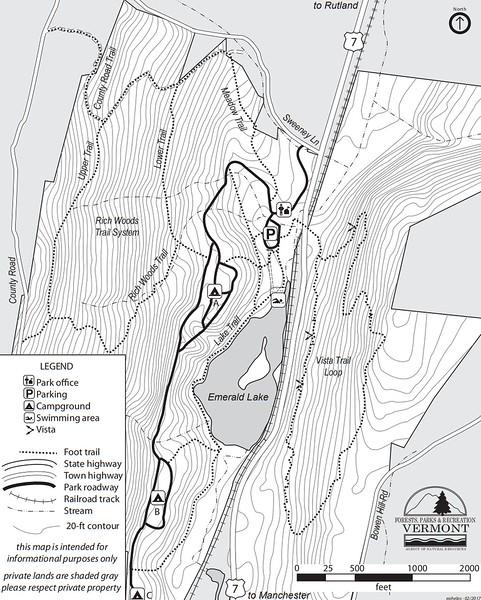 Emerald Lake State Park (Trails)