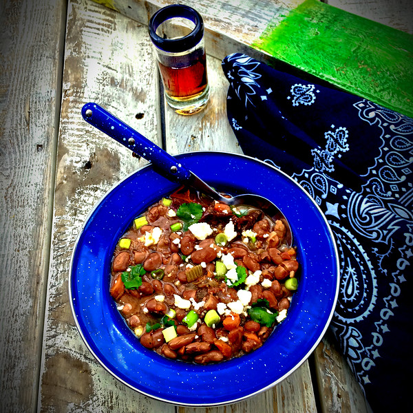 Frijoles and Rum