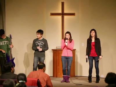 Gospel Night 12-08-2012