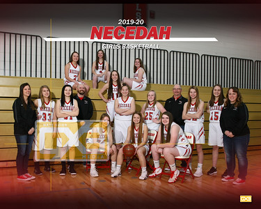 Necedah girls basketball GBB1920