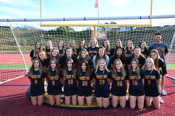 TP JV Girls Soccer team, 12-17-19