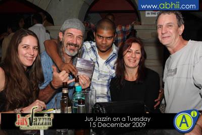Jus Jazzin - 15th December 2009