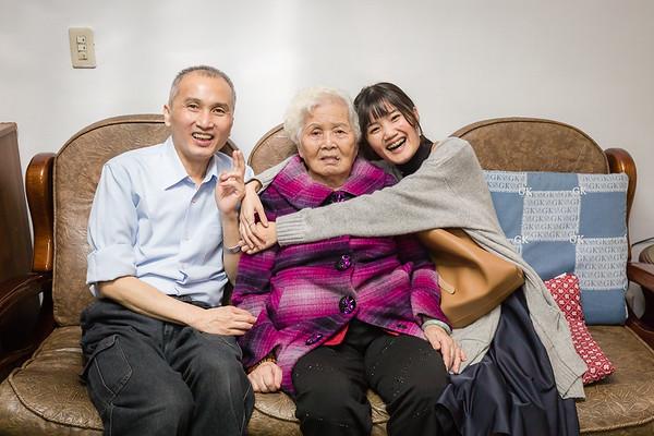 20170108外婆86歲生日