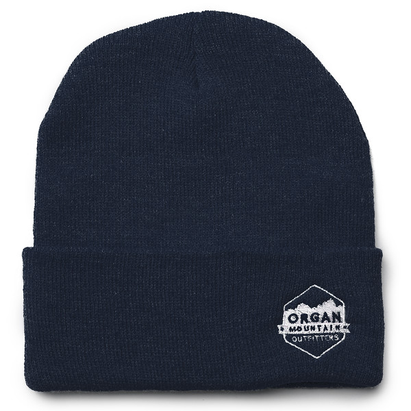 Outdoor Apparel - Organ Mountain Outfitters - Hat - 12 Inch Knit Beanie - Navy.jpg