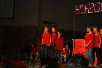 Courtney' Christmas Performance - December 2010