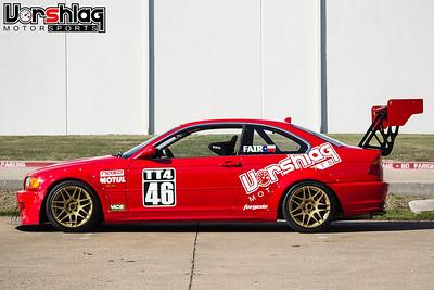 Vorshlag Red 2001 BMW E46 TT Build