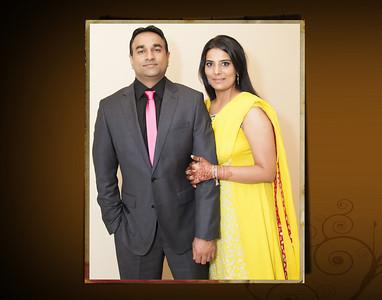 Abid & Laila Engagement Flash Mount Album