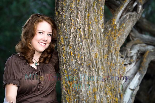 Becca Bowman Senior Portrait THS 2014