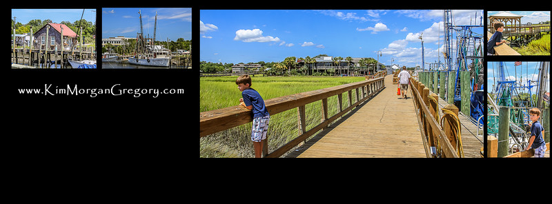 SHEM CREEK PARK | NEW BOARD WALKS