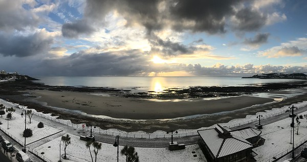 A (very rare) Snowy Weekend on the Isle of Man 2017