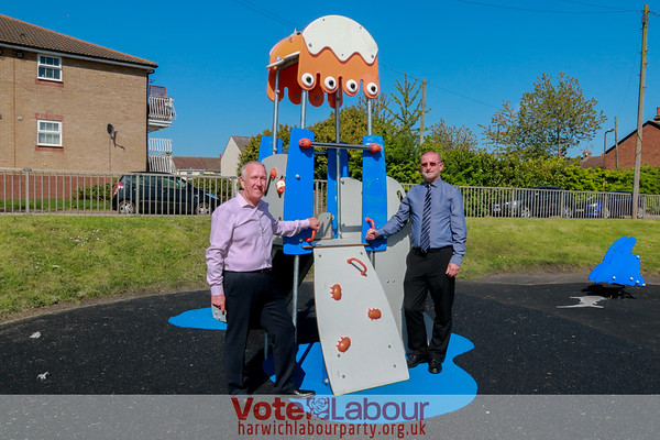 New slide is put in at vandal-hit Bathside Bay park