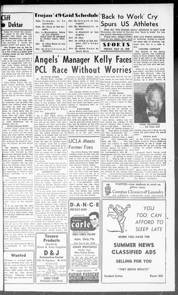 Summer News, Vol. 3, No. 14, July 23, 1948