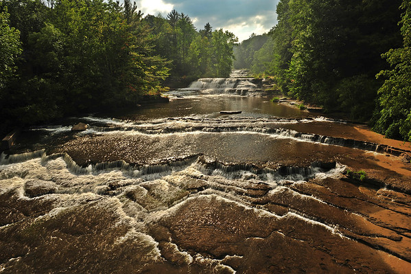 The Serene Falls of Wiscoy