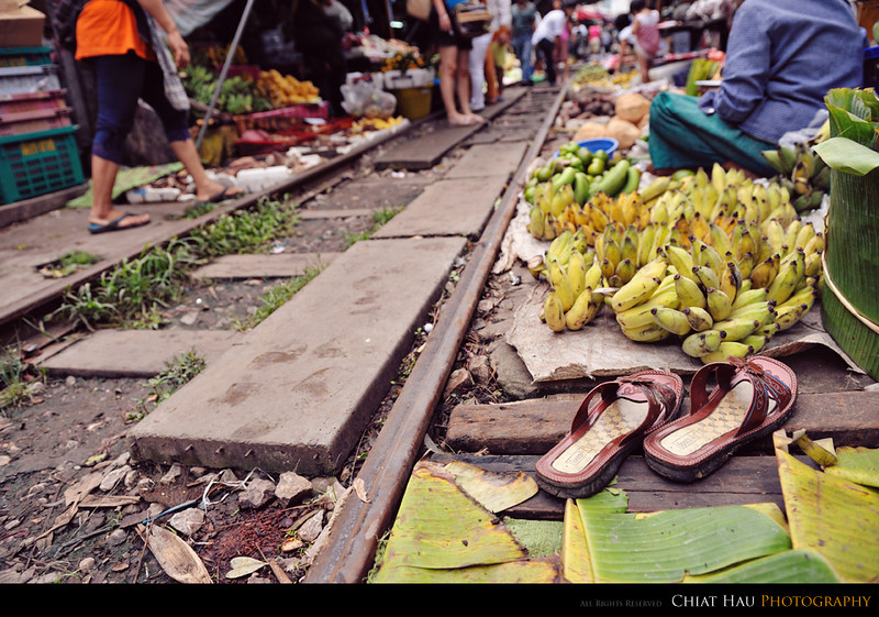 """Taking off my shoes and selling my fruits here. :"""")"""