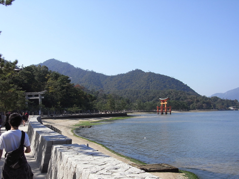 Miyajima is known as one of the three most beautiful places in Japan along with Amano Hashidate in Kyoto and Matsushima in Miyagi.