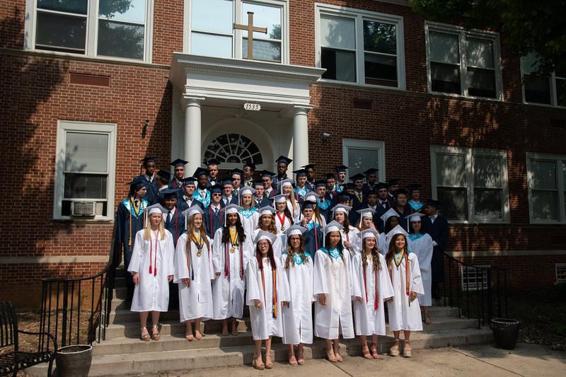 St. Maria Goretti High School 2019 Graduation