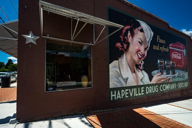 GA, Hapeville - Coca-Cola Wall Sign 02