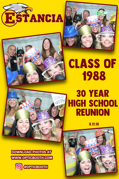 Estancia's 30 Year High School Reunion 2018