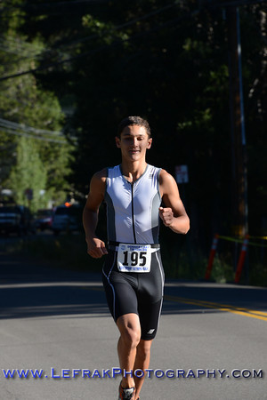 Donner Lake Sprint Triathlon 2013 Run