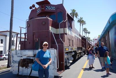 Santa Cruz Beach Train - 6/28/16