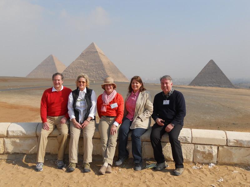 John & Kathy Winant, Ann Starkey, Gayle & Bruno Fiabane -- Kimberly Collins