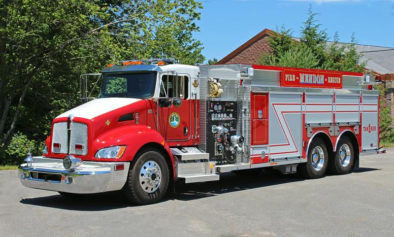 Tanker 1 2012 Kenworth / Rosenbauer 750 / 2500