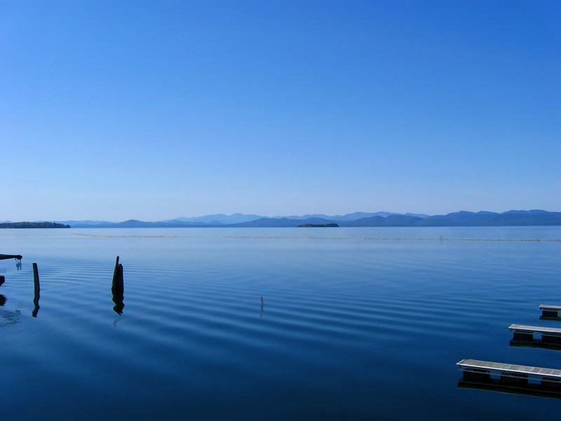 Lake Champlain, Burlington waterfront, VT