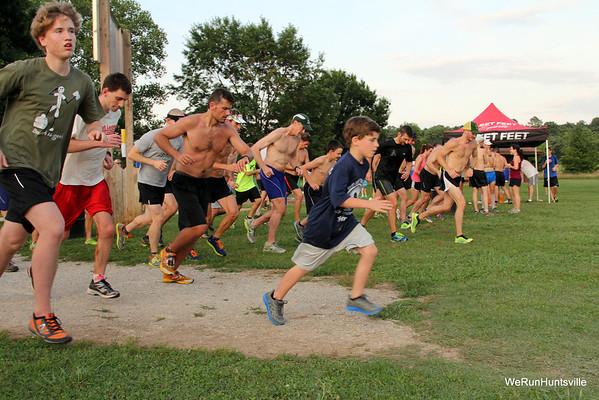 2013 Tuesday XC Runs