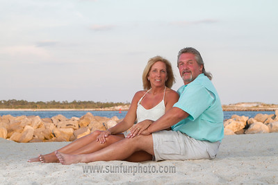 Tharp Family enjoying Panama City Beach 2015