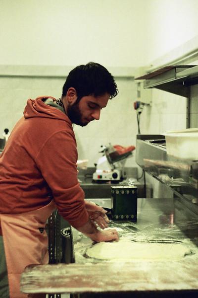 Pizzaiolo Antonio. Vasto, Italy 2013.