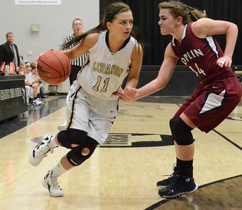 Basketball - LHS Girls 2013-14 - Joplin