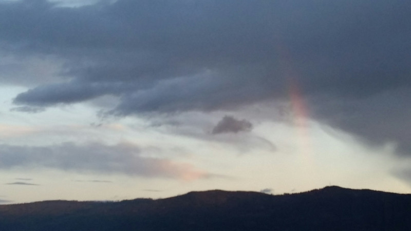 More of that subtle sunset rainbow