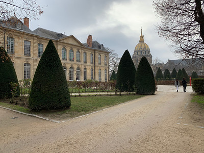 Day 8b-- Invalides and the Rodin Museum
