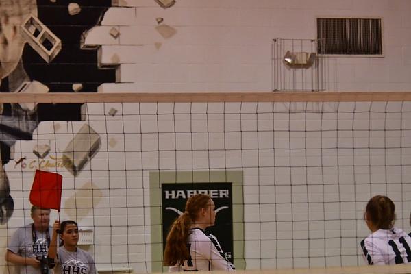 Harper volleyball vs Hondo
