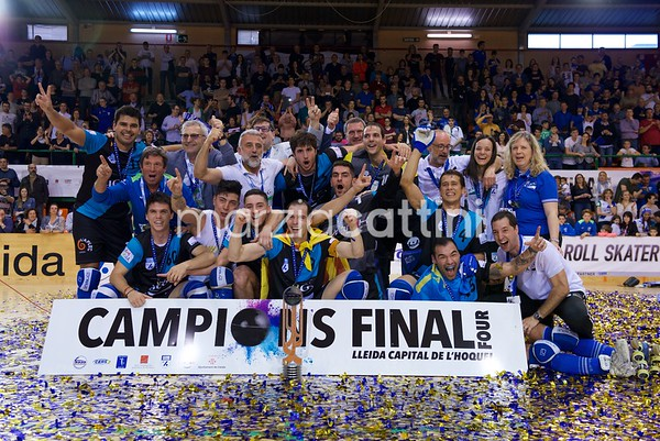 Final 4 CERS Cup: awarding ceremony