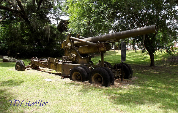 Williston FL M2 8 inch Howitzer