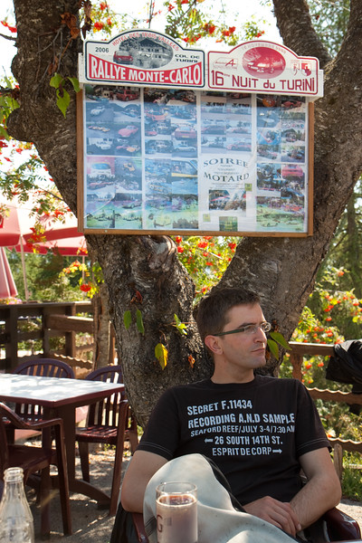 Rallydriver pub in the alpes