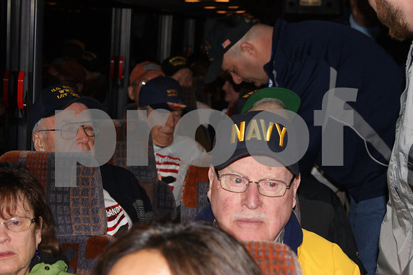 April 7, 2013 Honor Flight from Maine