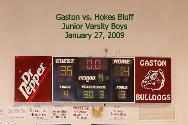 Hokes Bluff vs Gaston, January 27, 2009