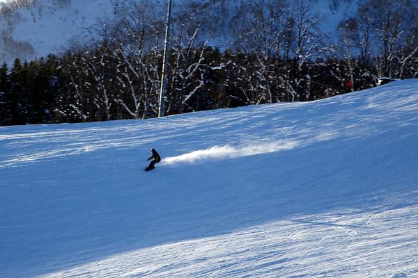 Snowboarding Niseko Japan