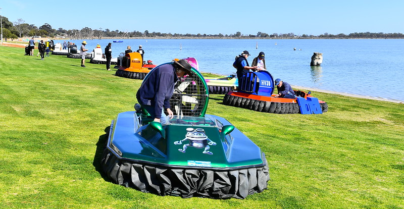 2019 Queensland Sporting Hovercraft Club on the Lake