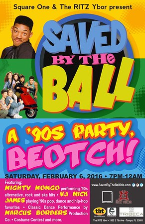 Saved By The Ball: a 90s Party