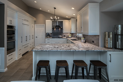 White Kitchen and New Bath - Next Project Studio