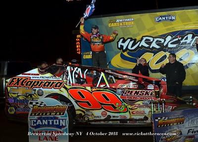 Brewerton Speedway - 10/4/18 - Rick Young