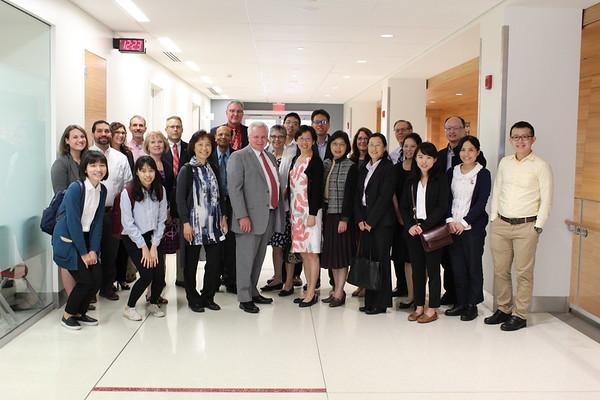 National Taiwan University Visit