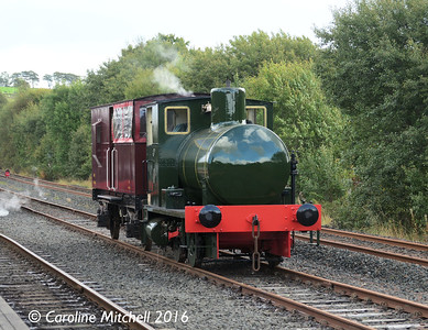 Scottish Industrial Railway Centre, Dunaskin, 25th September 2016